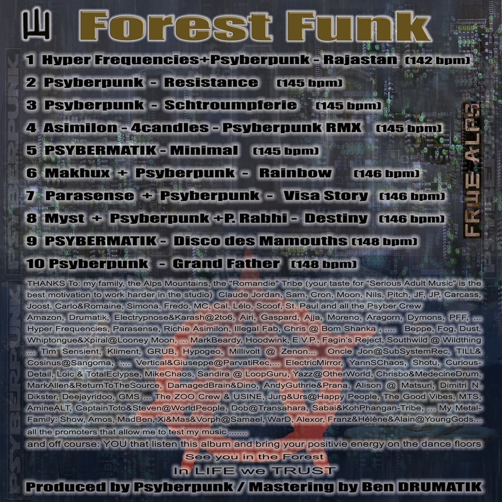 ForestFunk__Track List